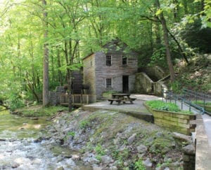 GRIST MILL AT NORRIS DAM STATE PARK