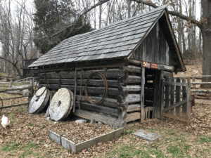 Parkey Blacksmith Shop in Anderson County, Tennessee
