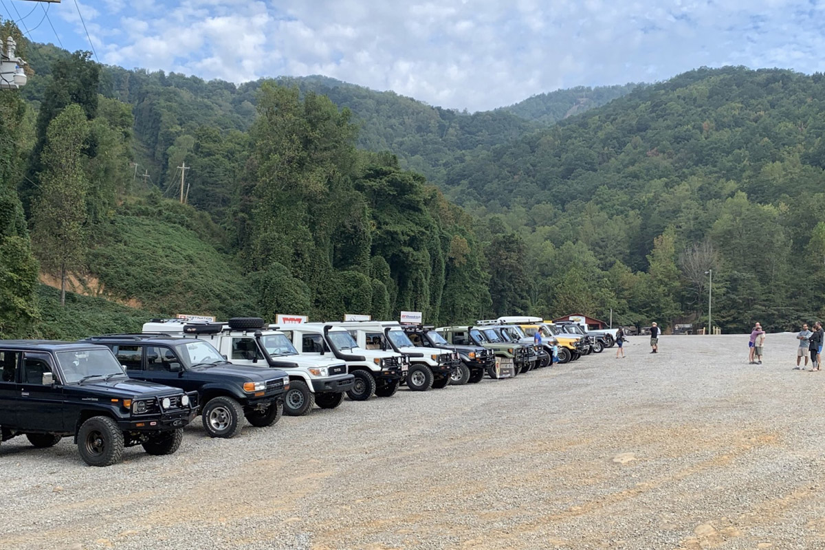 70 Series Land Cruisers Meet and Greet