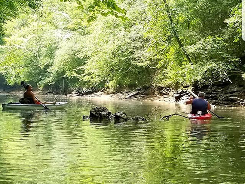 PADDLING THE CLINCH RIVER